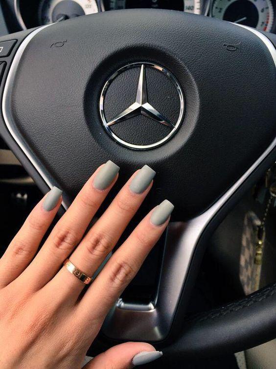 Светлые ногти дизайн 2020 (18)