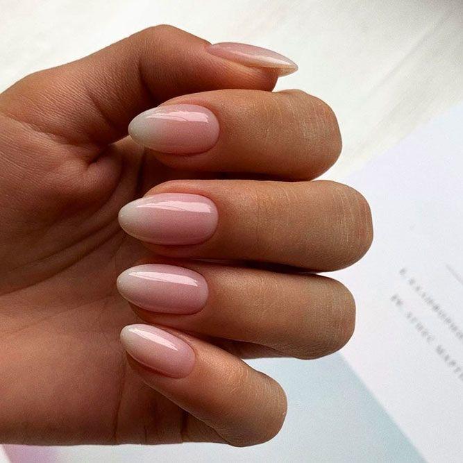 Светлые ногти дизайн 2020 (14)