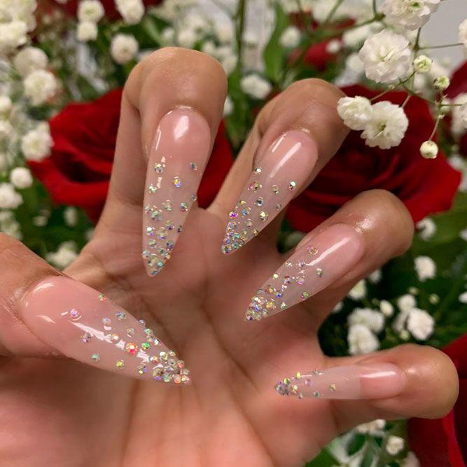 Светлые ногти дизайн 2020 (13)