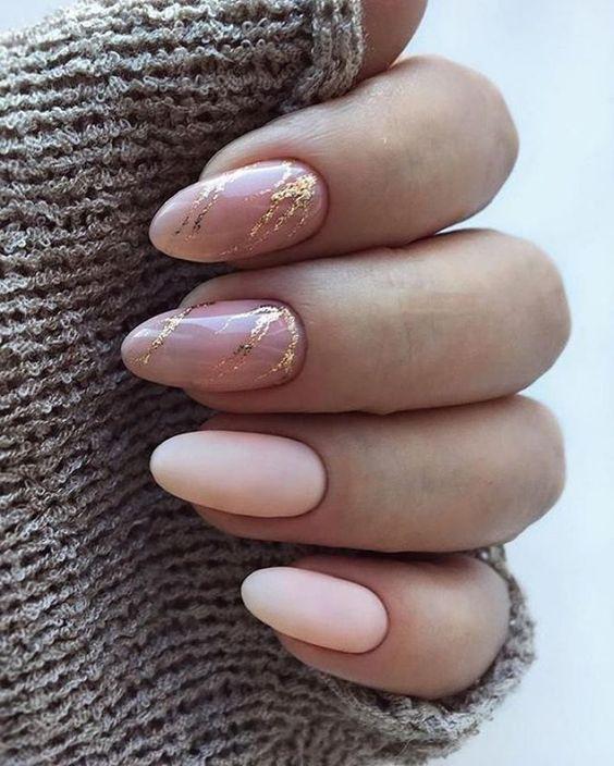 Светлые ногти дизайн 2020 (10)