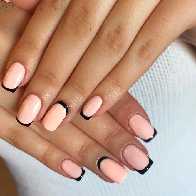 Светлые ногти дизайн 2020 (44)