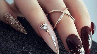 Ногти гель-лак дизайн 2021 (91)