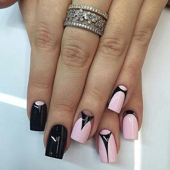 Ногти гель-лак дизайн 2021 (34)