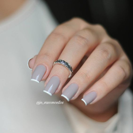 Ногти гель-лак дизайн 2021 (29)