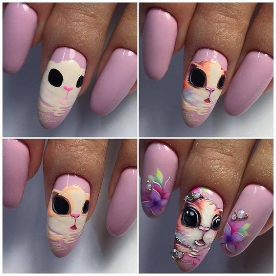 Ногти гель-лак дизайн 2021 (14)