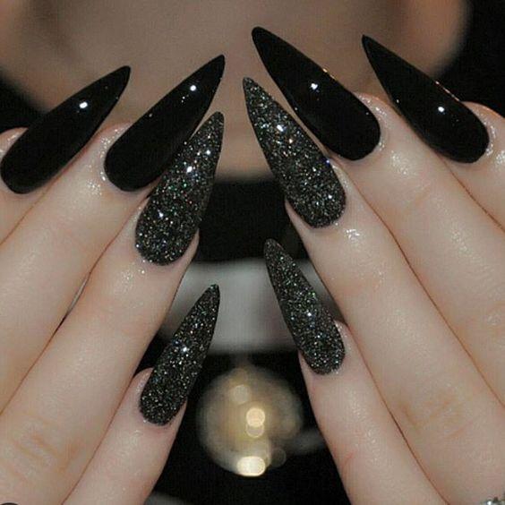 Ногти гель-лак дизайн 2021 (92)