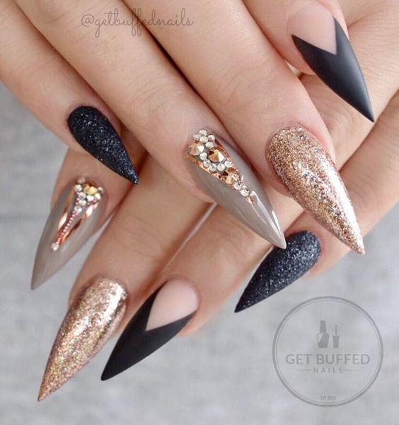 Ногти гель-лак дизайн 2021 (89)