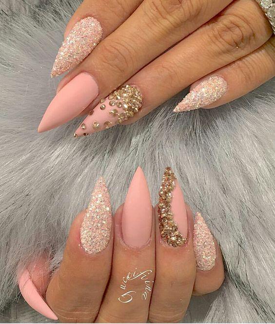 Ногти гель-лак дизайн 2021 (87)