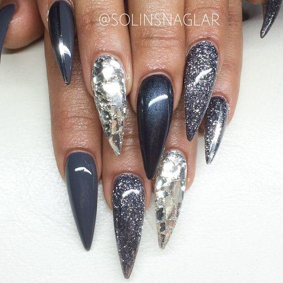 Ногти гель-лак дизайн 2021 (84)