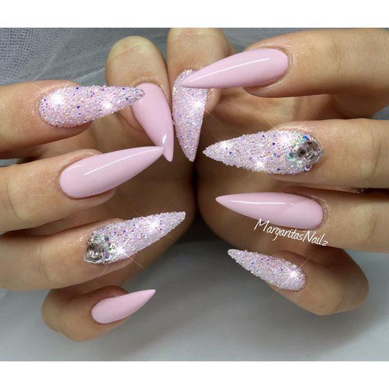 Ногти гель-лак дизайн 2021 (81)