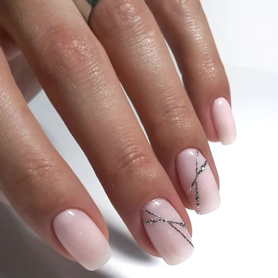 Рисунки на коротких ногтях (80)